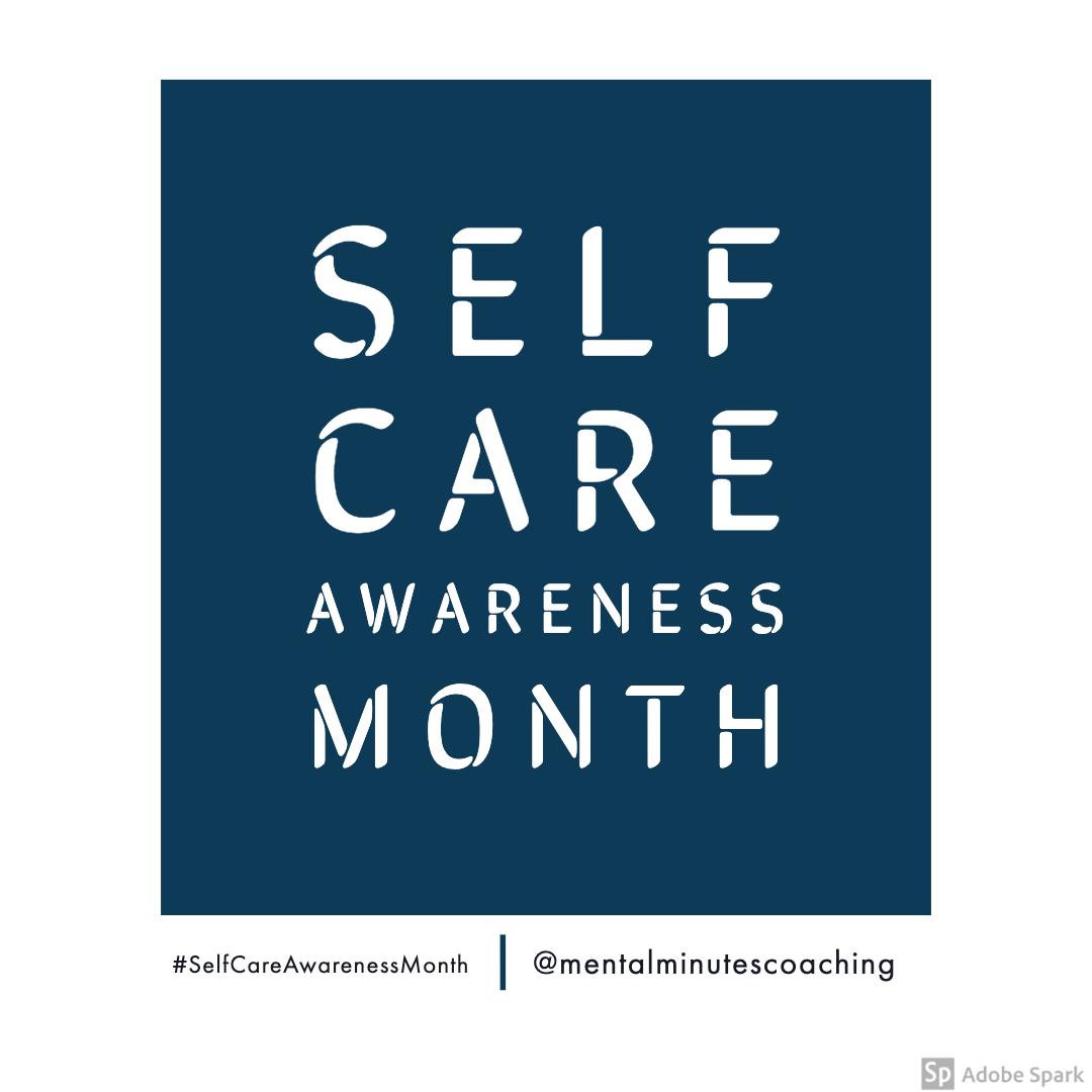 Self Care Awareness Month
